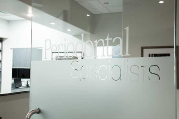 Dental Implant Scottsdale Clinic Door