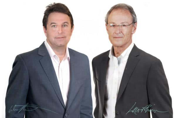 Doctors David Barget and Lewis Robinson Signed Why Choose Us